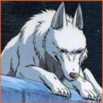 もののけ姫 モロの子供山犬兄弟2匹の名前は?モデルとなった動物は?