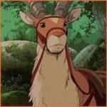 もののけ姫 ヤックルがかわいい!モデルとなった動物や性別は?